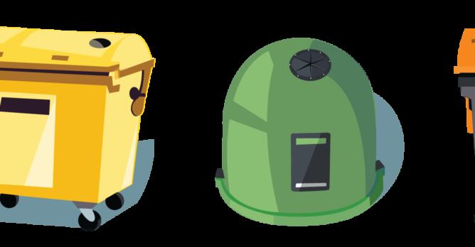kontejnery_trideni_odpadu_samosebou_papir_plast_sklo_napojove_kartony