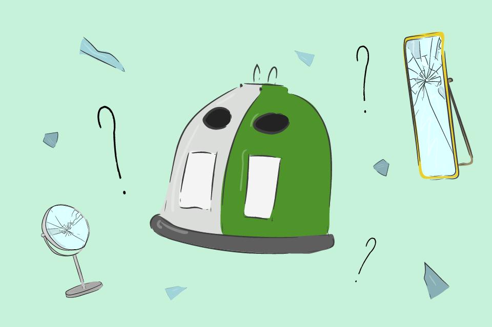 popelnice sklo