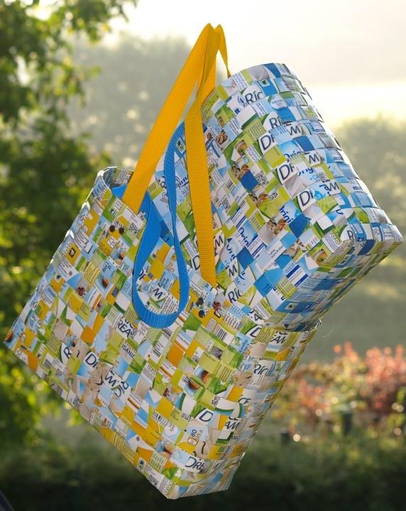 Upcyklovaná taška