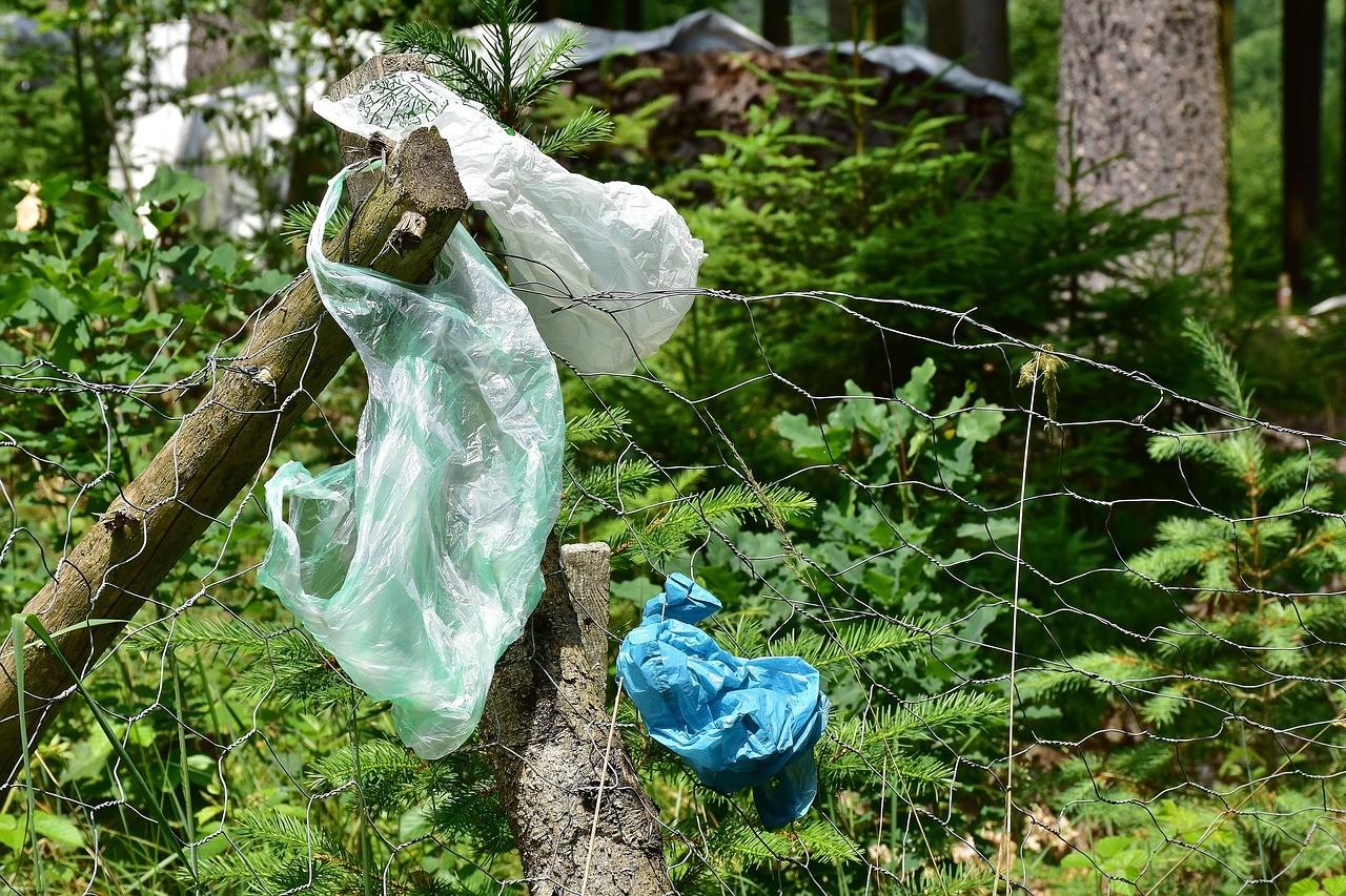 Odpad vpřírodě