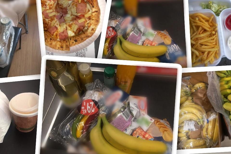 samosebou_vyzva_odpadky_obaly_pizza_ovoce_kava_kelimek_sacky_lahve_sklo