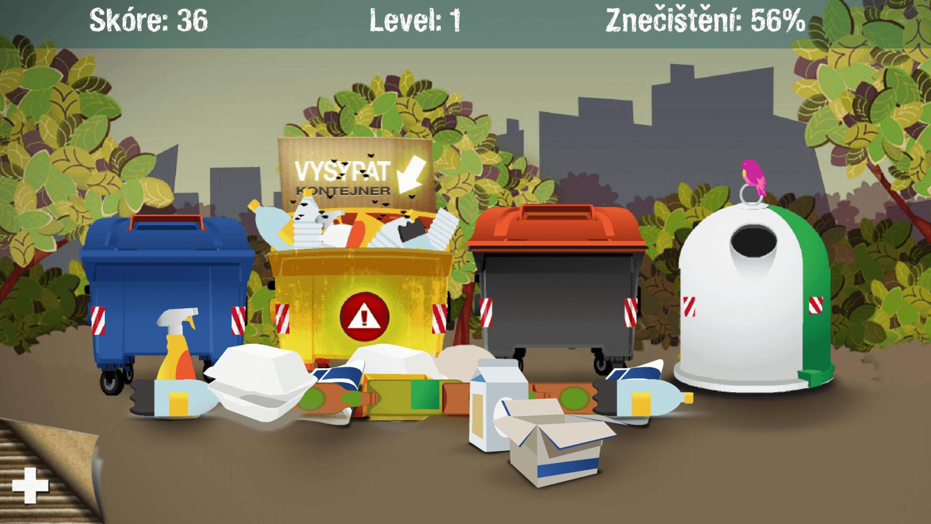 ekontici_hra_aplikace_samosebou_trideni_kontejner_odpad_obal