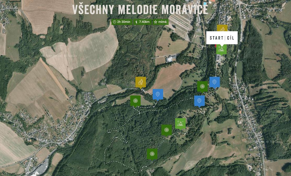 samosebou_cistou_prirodou_moravice_cesko_mapa_trasa